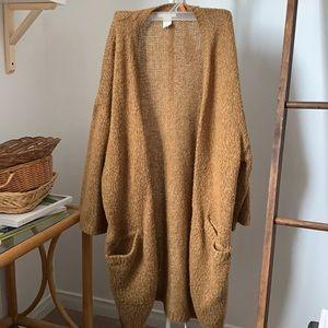 3/4 length shelve cardigan